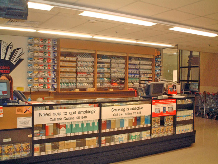 11 9 Retail promotion and access - Tobacco in Australia